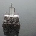 Der Nebel lichtet sich auch vor Tromsö nicht.
