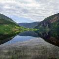 Spiegelbild am Granvinvatnet
