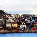 Die bunten Häuser sind ein Markenzeichen Kristiansunds.