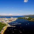 Kirkenes ist erreicht - hier die Aussicht oberhalb des Langørveien