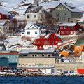 Hammerfest ist eine schöne, bunte Stadt.