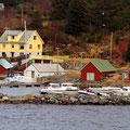 Auch Aquakulturen lassen sich an der Küste finden.