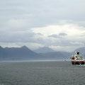 Sehnsucht - die Polarlys fährt nordgehend!