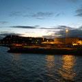 Frühmorgens in der Dämmerung erreichen wir Trondheim.