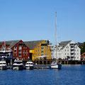 Auch Tromsø hat sehr schöne Speicherhäuser.