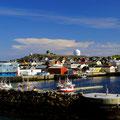 Einfahrt in den Hafen von Vardø