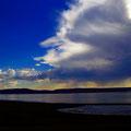 Imposant der Himmel - Wechsel zwischen Wolken und blauem Himmel.