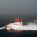 Das Rettungsschiff fuhr ebenfalls nach Ålesund.