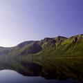 Spiegelungen im Holandsfjord.