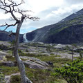 Das Hochland ist erreicht - Blick auf den Søtefoss.