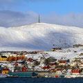 Hammerfest gilt als nördlichste Stadt der Welt.