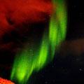 Polarlichter in der Barentssee 2012