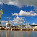 Der Hafen von Larvik.