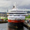 MS Richard With nordgehend in Trondheim.
