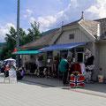 Typischer Souvenierstand in Voss