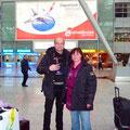 Fotografiert von Margit und Margitta - unsere ersten Bekannten!