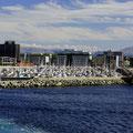 Imposant der Segelhafen von Bodø.