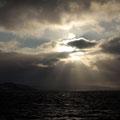 Wolken und Sonne bildeten einen wunderschönen Kontrast.