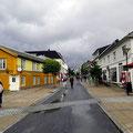 Die Fußgängermeile in Sandnessjøen.