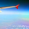 Über den Wolken - mit Air Berlin.