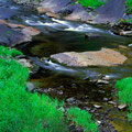 Abfluss des Skjervsfoss