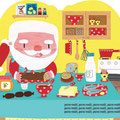 Père Noël - livre gigogne - ed. Mango ©