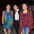 Carole Huriot-Bagourd (médium), Rosana Marcis (viaenergetica.fr) et Nathalie Renard. Projet ciné-débat Via Energetica et CGR cinémas - films spirituels, documentaires santé, nature et bien-être.