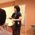 武蔵野音楽大学打楽器科卒 日本音楽療法学会認定音楽療法士 白鳥泰代