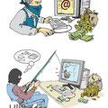Internet Kriminalität - Phishing