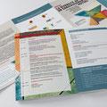 Assises: la diversité au travail, un enrichissement mutuel | flyer réalisé avec Chatty Ecoffey.