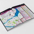 360° magazine | création du logo gaymap et des plans de la partie gaymap.