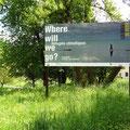 SIG | exposition Where will we go? | réalisation de l'affiche ainsi que la déclinaison des supports média.