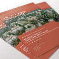 Ville de Genève | Flyers pour les expositions des projets de concours d'architecture | ancien design.
