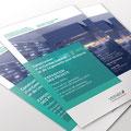 Ville de Vernier | flyer pour l'exposition des projets de concours d'architecture pour la Construction  d'un Centre Culturel  et de Logements pour étudiants à Vernier.