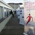 Exposition «Genève, un paysage lacustre en mutation» dans le cadre de la Fête de l'eau aux Bains des Pâquis.