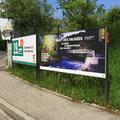 SIG | Nuit des Musées 2019 à Vessy | affiches F4 et F12 | photo du barrage: Pierre Vallier