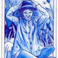 Min - Cartouche bleue