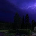 Gewitterfotografie, auf Blitz mit Photodiode des triggie pro ausgelöst