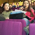 Sofia participant au débat