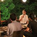 船木京都部長のスピーチ