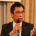 船木京都部長から、祝辞