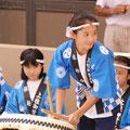 地域の可愛い 太鼓隊