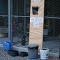 Die Hundeversorgungsstation