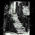 Stufen in der Altstadt von Rovinj