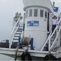 unser Schiff für Rundfahrt und 2 Übernachtungen