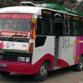 Luxus-Reisebus für Touristen