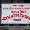 der kriegerische Gorkha-König