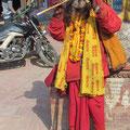 Saduh - ein Hindu-Bettelmönch