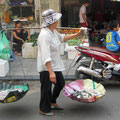 Fisch-Verkäuferin