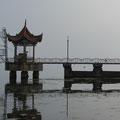Landungsbrücke für nicht existierende Ausflugsschiffe